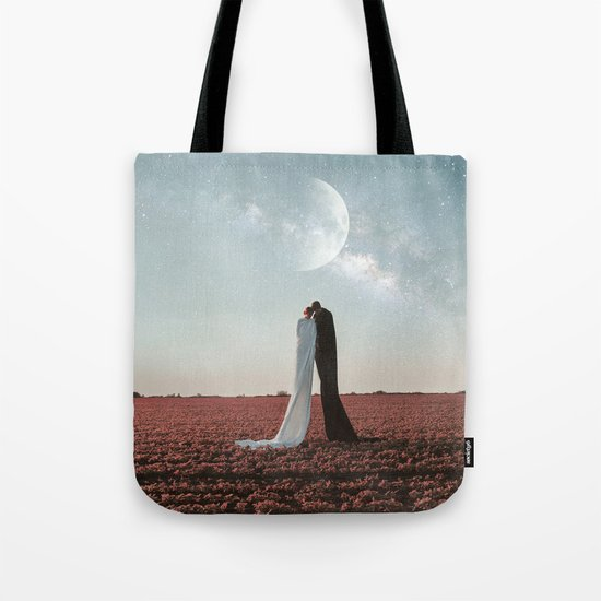 Living under the stars Tote Bag