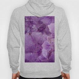 Violet Kryptonite Crystals Hoody