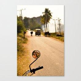 Hampi road Canvas Print