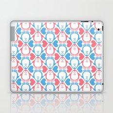 NGWINI - penguin love pattern 1 Laptop & iPad Skin