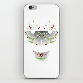 Mr. Sugar Skull iPhone Skin