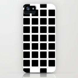 Black Point iPhone Case