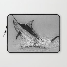 Old Man and the Sea Laptop Sleeve