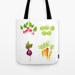 Garden Party - Mixed Veggies Tote Bag