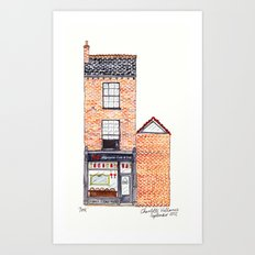 The Cats of York by Charlotte Vallance Art Print