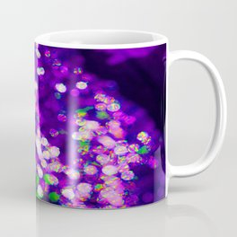 Tin Foil Bokeh Coffee Mug
