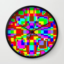 Colorful1 Wall Clock