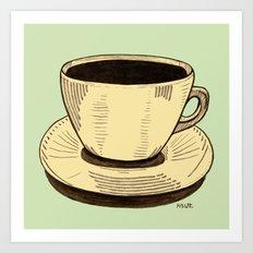 good ol' cup of coffee, I. Art Print