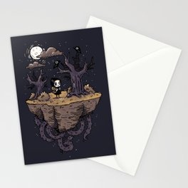Dark Wood Stationery Cards