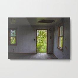 Barkman House, Arena, North Dakota 3 Metal Print