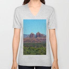 Sedona Red Rocks Unisex V-Neck