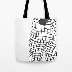 Minimalistic B-Side Tote Bag