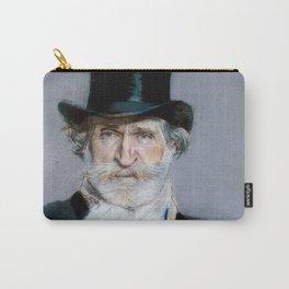 Giuseppe Verdi (1813 – 1901) by Giovanni Boldini (1842 - 1931)(2) Carry-All Pouch
