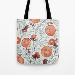 Young Pomegranates Tote Bag