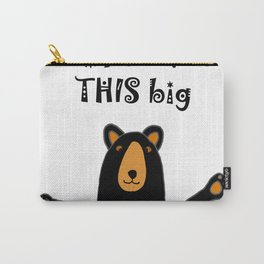 Hilarious black bear Carry-All Pouch