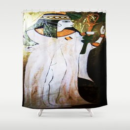 Golden Isis Shower Curtain