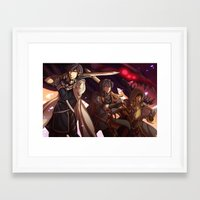 fire emblem awakening Framed Art Prints featuring FIRE EMBLEM: AWAKENING by Rienlen