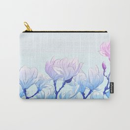 Frozen Magnolia Carry-All Pouch