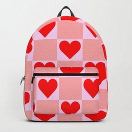 love heart pattern Backpack