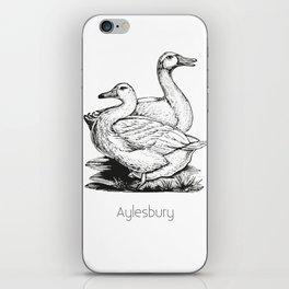 Aylesbury Duck   Animal Art Design iPhone Skin
