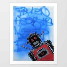 System Error/Broken Heart Art Print