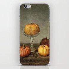 autumn still life iPhone & iPod Skin