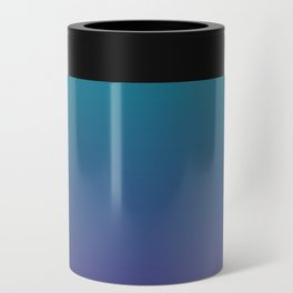 Ombre | Teal and Purple Can Cooler
