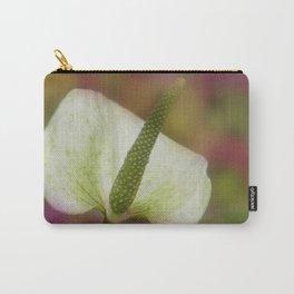 emfurium magenta - white Carry-All Pouch