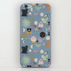 Lunar Pattern: Blue Moon iPhone & iPod Skin