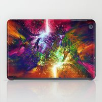 chaos iPad Cases featuring Chaos by Robin Curtiss