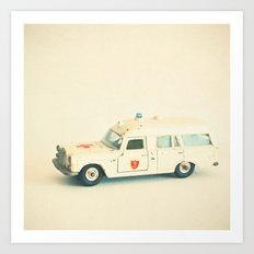 Ambulance Art Print
