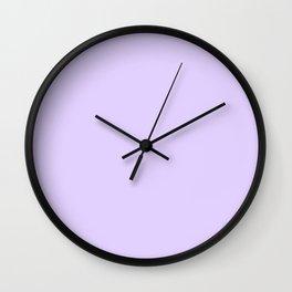 Lilac Purple Wall Clock