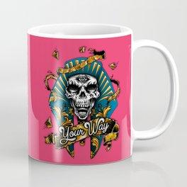Calavera Egipcia Coffee Mug