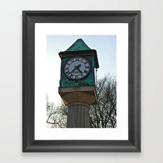 Tick Tock Framed Art Print