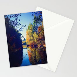 Sokokis Lake During the Fall Stationery Cards