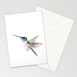 Flying Little Hummingbird Stationery Cards