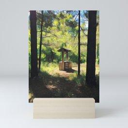 Well at Westfield Heritage Village Mini Art Print