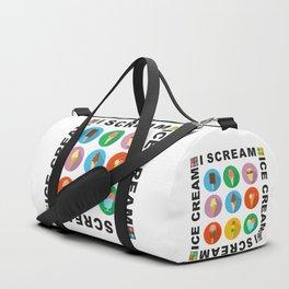 I scream 4 Ice Cream Duffle Bag