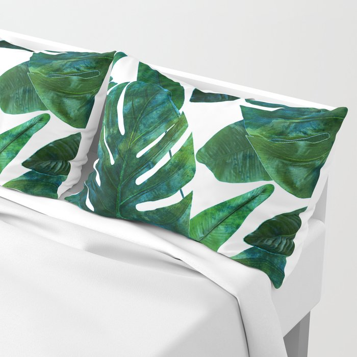 Perceptive Dream || #society6 #tropical #buyart Pillow Sham