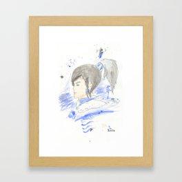 Legend of Korra - Korra Watercolour Framed Art Print
