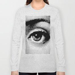 Lina Cavalieri Eye 02 Long Sleeve T-shirt