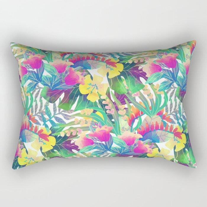 Tropical Jungle Rectangular Pillow
