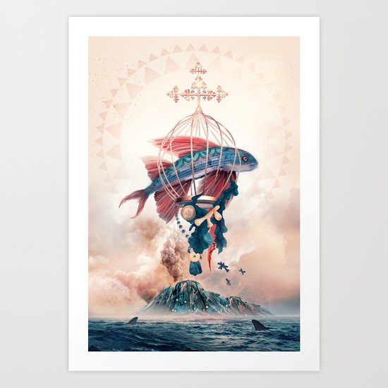 FlyFish Art Print