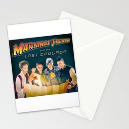 marianas trench last crusade tour 2021 Stationery Cards