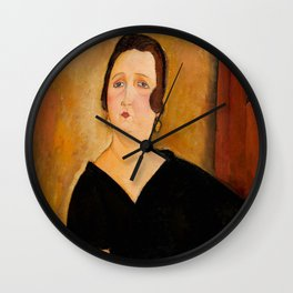 "Amedeo Modigliani ""Madame Amédée"" Wall Clock"