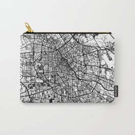 Tianjin Map Gray Carry-All Pouch
