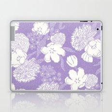 SKETCHY FLORAL: DUSTY LAVENDER Laptop & iPad Skin