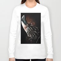 bane Long Sleeve T-shirts featuring Bane by Rav Chaggar