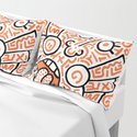 """""""The Face"""" - inspired by Keith Haring v. orange by hellasch"""