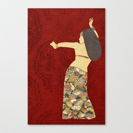 Belly dancer 12 Canvas Print